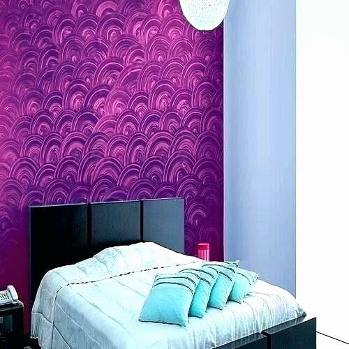 Wall Texture Paint For Bedroom Interior Design Home